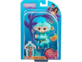 33% off WowWee Fingerlings Baby Monkey Eddie
