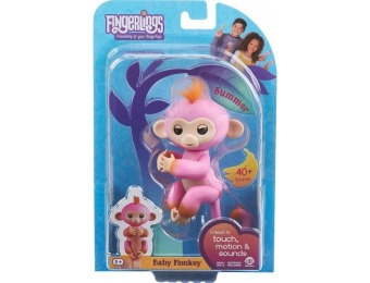 33% off WowWee Fingerlings Baby Monkey Summer