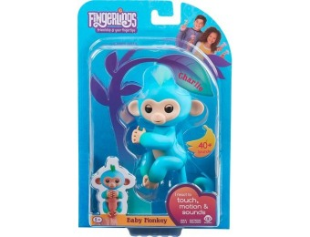 33% off WowWee Fingerlings Baby Monkey Charlie