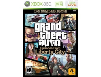 50% off Grand Theft Auto: Episodes from Liberty City - Xbox 360