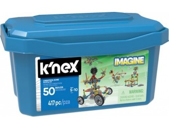 40% off K'NEX Imagine Creation Zone Building Set