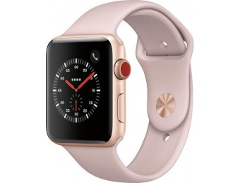 $123 off Apple Watch Series 3 (GPS + Cellular) Refurbished