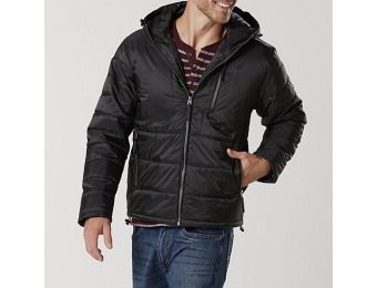59% off U.S. Polo Assn. Men's Hooded Puffer Coat