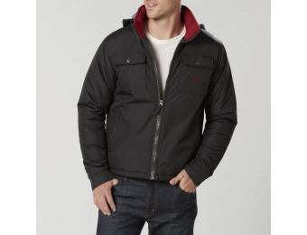 59% off U.S. Polo Assn. Men's Hooded Winter Coat