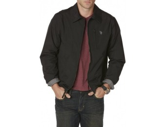 59% off U.S. Polo Assn. Men's Microfiber Jacket