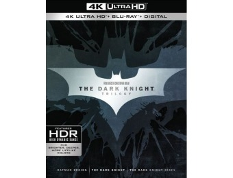 55% off The Dark Knight Trilogy [4K Ultra HD Blu-ray]