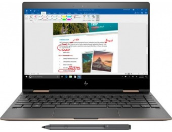 "$150 off HP Spectre x360 2-in-1 13.3"" 4K UHD Touchscreen Laptop"