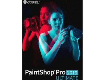 65% off PaintShop Pro 2019 Ultimate - Windows