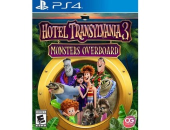 25% off Hotel Transylvania 3: Monsters Overboard - PlayStation 4