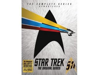 52% off Star Trek: The Original Series - The Complete Series (DVD)