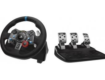 $200 off Logitech G29 Driving Force Racing Wheel for PS4/PS4