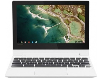 "$100 off Lenovo 2-in-1 11.6"" Touch-Screen Chromebook"