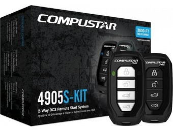$190 off Compustar 2-Way Remote Start System