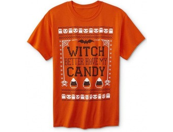 80% off Men's Halloween Graphic T-Shirt - Better Have My Candy