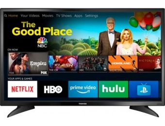 "$80 off Toshiba 32"" LED 720p Smart HDTV – Fire TV Edition"