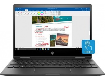 "$150 off HP ENVY x360 13.3"" Touchscreen 2-in-1, 128GB SSD"