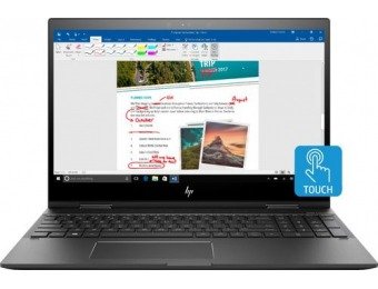 "$180 off HP ENVY 15.6"" Touch-Screen 2-in-1, Ryzen 7, 256GB SSD"