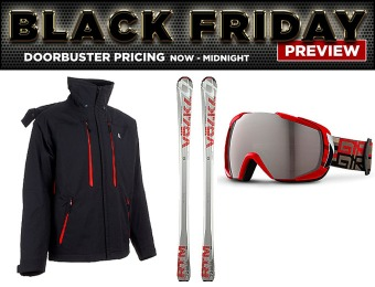 Skis.com Black Friday Preview Sale - Doorbuster Pricing