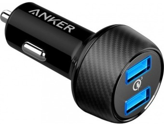 40% off Anker PowerDrive Speed Vehicle Charger