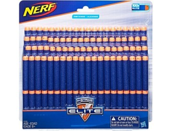 40% off Nerf N-Strike Elite Dart Refill (100-Pack)