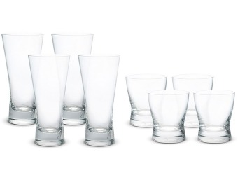 $92 off Block Trinity Crystal Barware, Set of 8