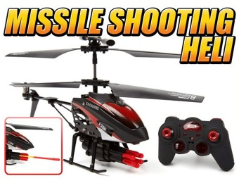 69% off Missile Attack 3.5CH RC Helicopter, Metal Frame