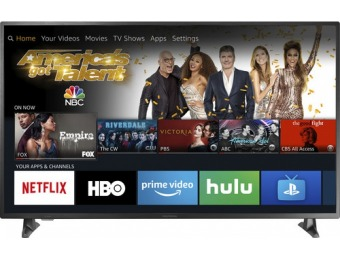 "$120 off Insignia 55"" LED Smart Fire TV 4K UHD HDR TV"