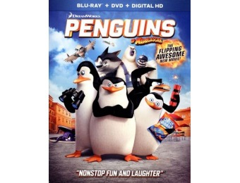 85% off The Penguins of Madagascar (Blu-ray/DVD)