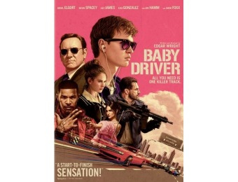 84% off Baby Driver (DVD)