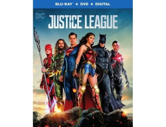 71% off Justice League (Blu-ray + DVD)