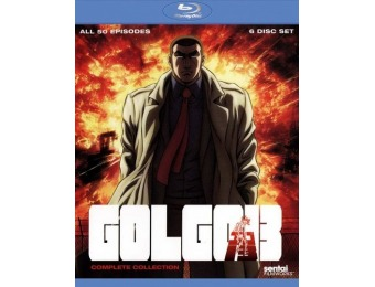 72% off Golgo 13: Complete Collection (Blu-ray)