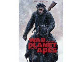 78% off War for the Planet of the Apes (DVD)