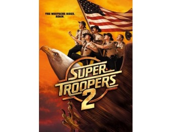 78% off Super Troopers 2 (DVD)