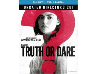 83% off Blumhouse's Truth or Dare (Blu-Ray + DVD + Digital)