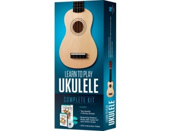 38% off Hal Leonard 4-String Ukulele - Learn to Play Kit