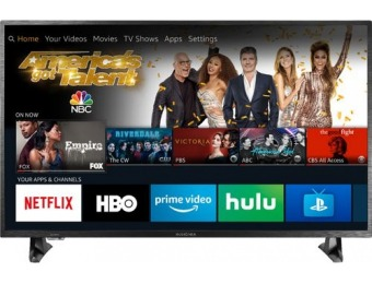 "$130 off Insignia 43"" LED Smart Fire TV HDR 4K UHD TV"