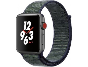 $71 off Apple Watch Nike+ Series 3 (GPS + Cellular) 42mm