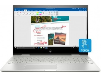 "$250 off HP ENVY x360 2-in-1 15.6"" Touch-Screen Laptop"