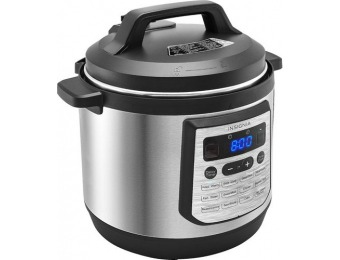 $80 off Insignia 8-Qt Multi-Function Pressure Cooker - Stainless Steel