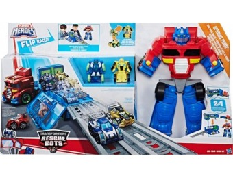 58% off Playskool Heroes Transformers Rescue Bots Flip Races