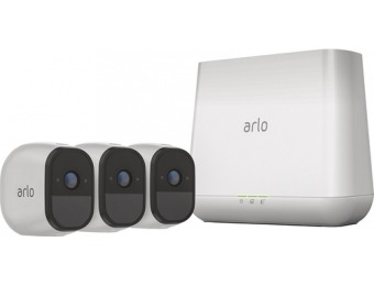 $243 off Arlo Pro 3-Camera Wireless Security Camera System