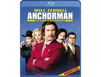 83% off Anchorman: The Legend of Ron Burgundy (Unrated) Blu-ray