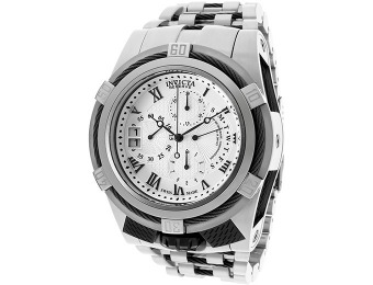 $3,535 off Invicta Bolt/Reserve Chrono Silver Dial Watch