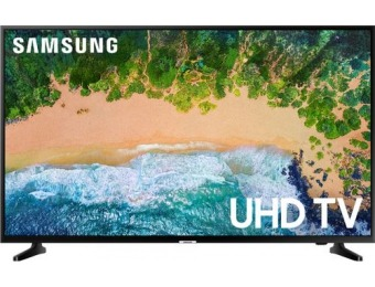 "$102 off Samsung 43"" LED NU6900 Series Smart HDR 4K UHD TV"