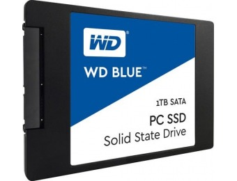 $190 off WD Blue PC SSD 1TB Internal SATA Solid State Drive