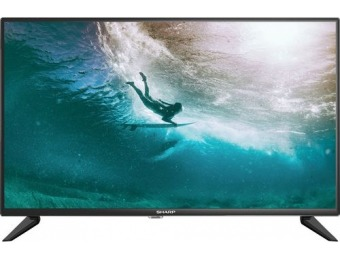 "$50 off Sharp 32"" LED 720p HDTV"