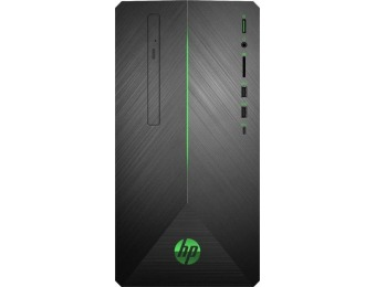 $180 off HP Gaming Desktop - AMD Ryzen 5, Radeon RX 580, SSD