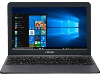 "$70 off ASUS 11.6"" Laptop - Intel Celeron, 32GB eMMC Flash Memory"