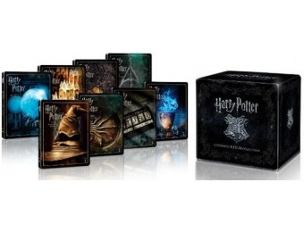 $75 off Harry Potter: 8-Film Collection [SteelBook] (4K UHD Blu-ray)
