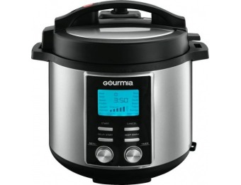 $70 off Gourmia 6-Quart Pressure Cooker - Stainless Steel